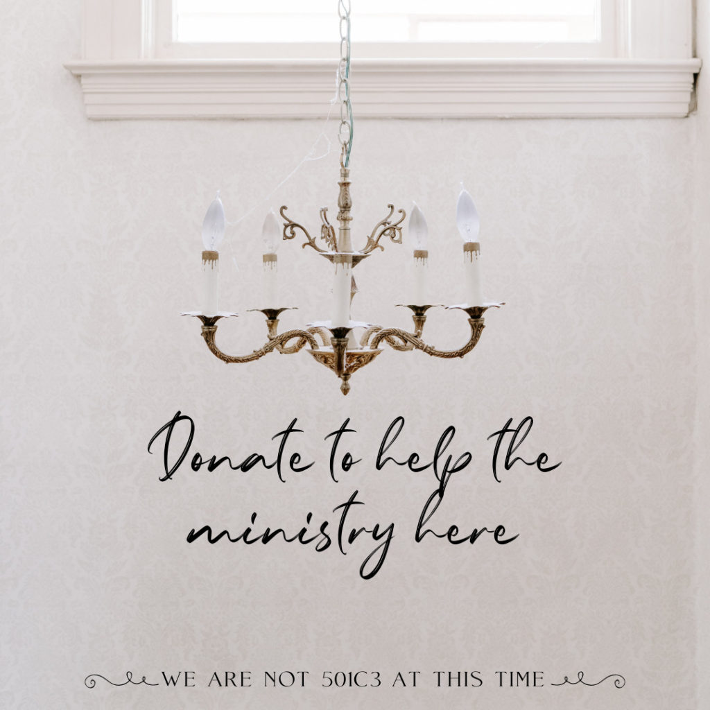 Donate to help the ministry here